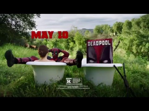 DEADPOOL (2016) Official BLU-RAY Movie Trailer (Side Effects May Vary) May 10, 2016. HD