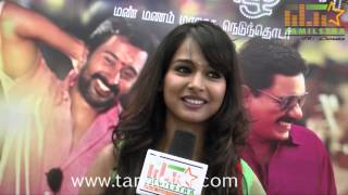 Kalyani at Andal Azhagar Serial Press Meet