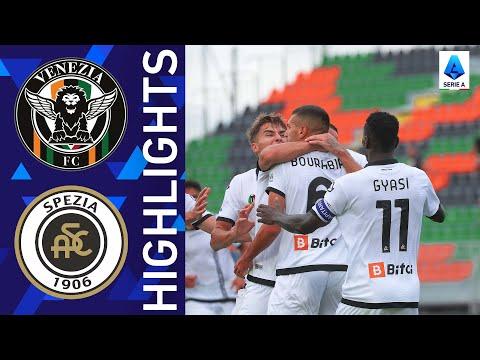 Venezia 1-2 Spezia   Spezia snatch a late win!   Serie A 2021/22