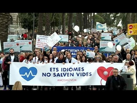 Katalanisch-Pflicht auf Mallorca: Ärzte protestieren