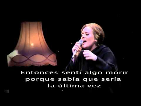 Adele &#8211; Set fire to the rain (Subtitulada)