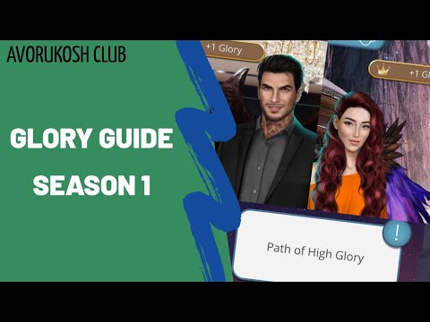 GUIDE: PERFECT 👑GLORY👑 PATH SEASON 1 | HEAVEN'S SECRET | ROMANCE CLUB