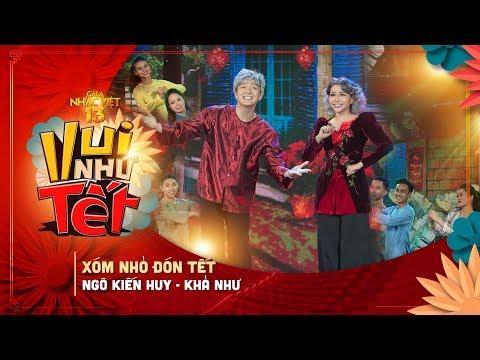 Xóm Nhỏ Đón Tết - Ngô Kiến Huy, Khả Như   Gala Nhạc Việt 13 (Official) - Thời lượng: 3 phút, 40 giây.