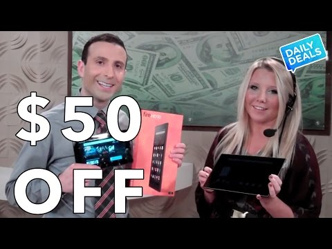 $50 Off Amazon Fire Tablet, Amazon Fire Tablet Review, Fire HD 8 ► The Deal Guy