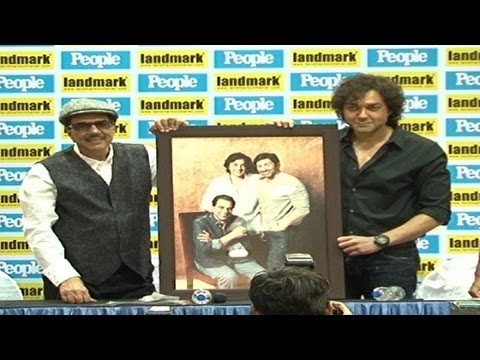 dharmendra - Dharmendra and his son Bobby Deol launched the cover of the People magazine in Mumbai. In an exclusive PEOPLE's latest cover stars, screen legend Dharmendra ...