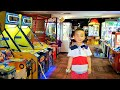 Kids Playtime Fun Arcade Games City  Amusements Skill Tester Machine Racing Shooting Fun Ckn Toys