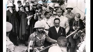 Haile Selassie In Asmara 1952(FEDERATION DAY)