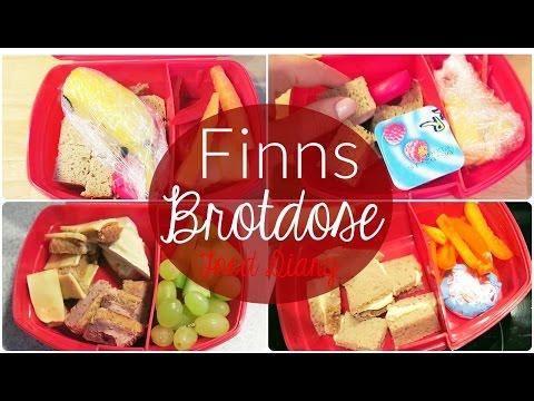 Food Diary | Finns Brotdose für die Kita | JuMarie