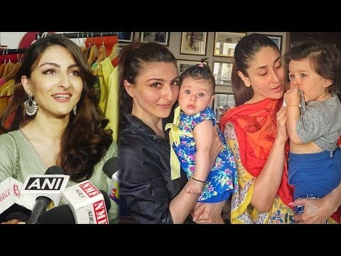 Soha Ali Khan On Taimur Ali Khan And Daughter Inaa