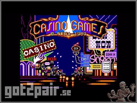 Casino Games - Master System
