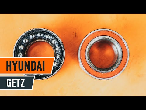 How to replace front wheel bearing on HYUNDAI GETZ 1 TUTORIAL | AUTODOC
