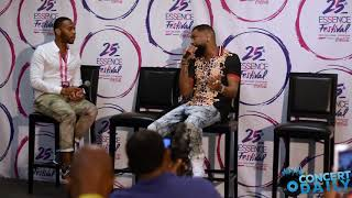 ESSENCE FEST: Ginuwine on first solo EMF performance, being overlooked in the industry + more
