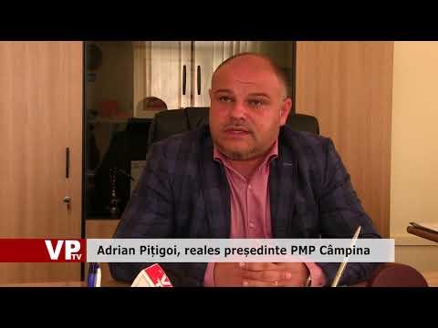 Adrian Pițigoi, reales președinte PMP Câmpina
