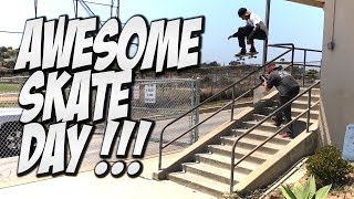 WATCH MORE VIDEOS HERE !!!https://www.youtube.com/watch?v=PkQMGfbCmDYIn Todays video we skate with Malique Simpson, Richie Amador & Vinnie Banh. We skate a bunch of cool summertime spots and hit a couple parks. If you enjoyed the video shoot us a like. Thanks Yo !!!FOLLOW US ON INSTAGRAM !!! https://www.instagram.com/nkavids/https://www.instagram.com/meak.s/https://www.instagram.com/vinniebanh/https://www.instagram.com/richie_fuckin_rich/SUBSCRIBE TO VINNIE BANH !!!https://www.youtube.com/channel/UCG0t1P17afwcH_kKswYwMnAFOLLOW MY OTHER PAGES !!!https://www.facebook.com/nkalexander7https://twitter.com/nigelalexander7I've been filming skateboarding since 1995.    :]I started a Youtube Channel right when Youtube started I just thought it was the coolestthing that we could just show everyone any of our skate videos and we didn't have to sell them.Youtube is my full time job and I love it. I have worked for such companies as Nike SB, Street League, Mountain Dew, Gatorade, AT&T, Plan B Skateboards, Woodward Camps, Network A, GoPro, Primitive Skateboarding & Many more. Please subscribe if you guys like the videos. Thanks Yo.SUBSCRIBE FOR MORE VIDEO'S ?http://www.youtube.com/channel/UCusD6cPVuc9F9m3L50jCNiA?sub_confirmation=1BUY MARKISA GEAR HERE !!!http://shop.markisaco.com/#Skate #Skateboard #Skateboarding #Nka #Vids #NKAVIDS #Nigel #NigelAlexander #Thrasher #Berrics #Ride #RdeChannel