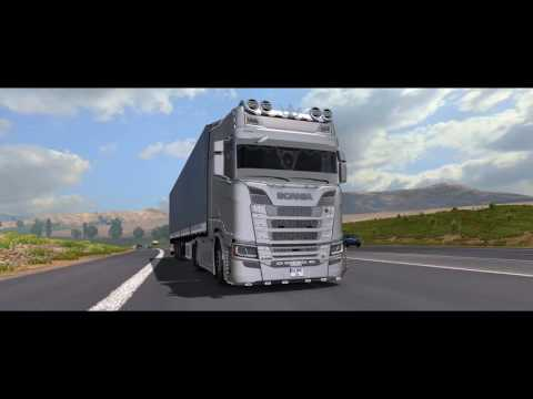 Scania S Series Turkish Job v1.0
