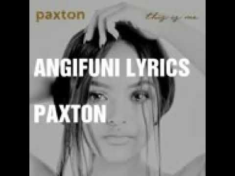 Angifuni indoda yakho lyrics