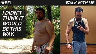 In this week's episode of 'Walk With Me' we discuss some life lessons I've learned after losing 145lbs. Losing the weight will not...
