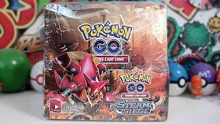 Opening A Pokemon GO Booster Box by Unlisted Leaf