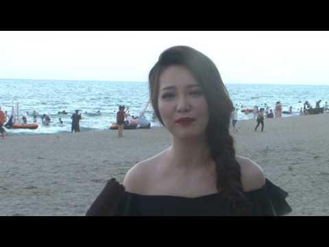 Cảm nhận của Á hậu Thụy Vân về biển Cửa Lò