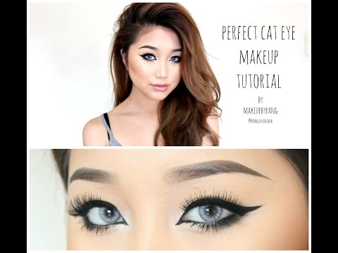Perfect Cat Eye Makeup Tutorial