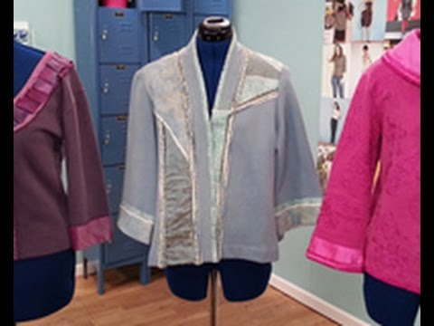 Londa Rohlfing Shows How To Create Sweatshirt Jackets on It's Sew Easy (503-2)