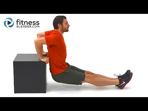 Upper Body Strength Training and Core Workout – Abs and Upper Body Supersets