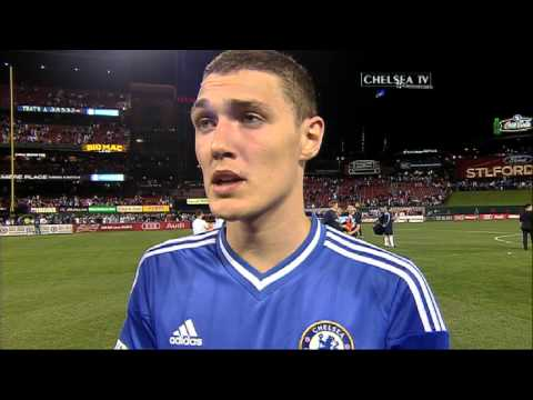 christensen - Ruben Loftus-Cheek and Andreas Christensen spoke to Chelsea TV after playing at the Busch Stadium in St Louis against Manchester City. Don't forget watch Che...