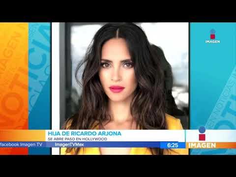 Hija de Ricardo Arjona se abre paso en Hollywood | Noticias con Francisco Zea