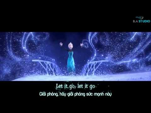 Let It Go – Idina Menzel [Video Lyrics / Kara / Vietsub]