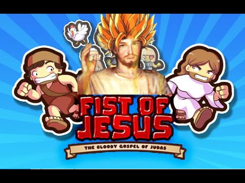 Fist of Jesus The Bloody Gospel of Judas - Gameplay - Let's Play