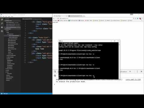 Learn MEAN Stack By Building A ToDo App - Todos Component \u0026 UI