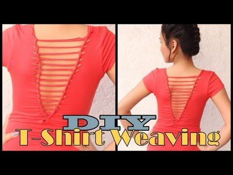 T Shirt Weaving !!!