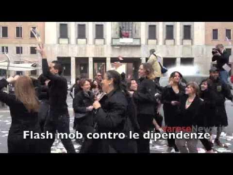 Flash mob contro le dipendenze