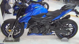 9. Suzuki GSX-S 750 ABS (2019) Exterior and Interior