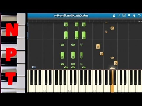 Aloe Blacc – The Man Piano Tutorial – How to play – Synthesia