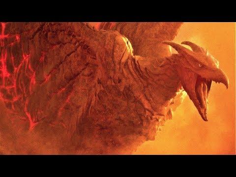 Godzilla King of the Monsters - Rodan Vs King Ghidorah Fight Scene