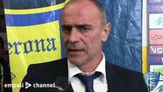 Preview video Le parole di mister Martusciello al termine di Chievo-Empoli