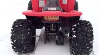 10. Honda TRX90- Walkaround