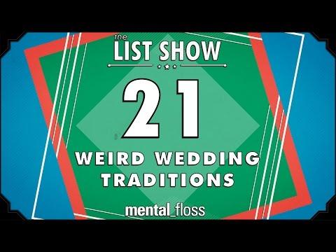 21 Weird Wedding Traditions