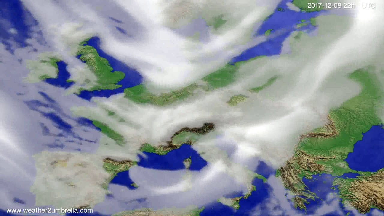 Cloud forecast Europe 2017-12-06