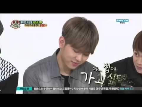 Junhyung - So funny... XD Love this so much... XD.