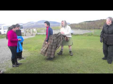Scotland - How to make a kilt