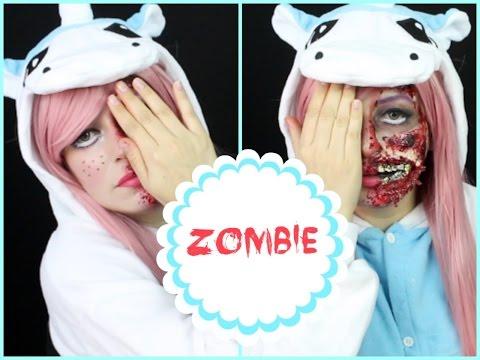 Maquillaje Muñeca Zombie