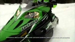 6. 2010 Arctic cat  Snowmobile Comfort Technologies