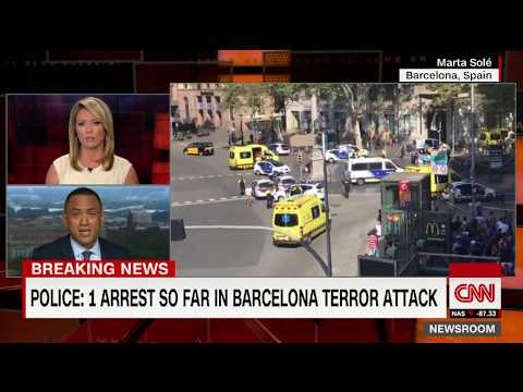 Barcelona attack update: 1 arrest, police say no hostage situation