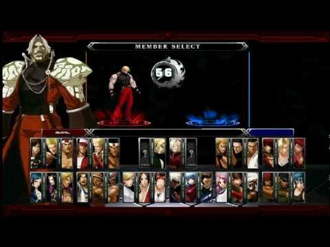 King Of Fighters XIII M.U.G.E.N Hidden Characters
