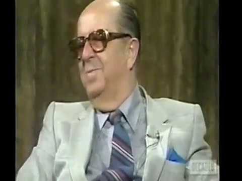 Television Legend Phil Silvers (Dick Cavett Show 1/20/82)
