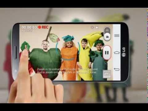 LG G2 - prezentacja funkcji  Audio Zooming