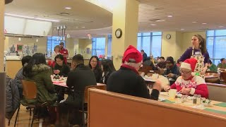Christmas Breakfast at the University of Scranton