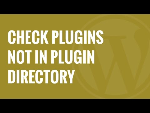 How to Check For Plugins No Longer in WordPress org Directory